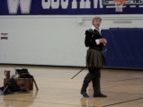 Mr. Ron Scot Fry as Shakespeare