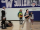 I wish this one was not blurry; he was so funny!